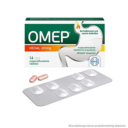 Omep Hexal 20 mg Tabletten, 14 St.