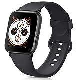 AK Compatible Apple Watch Bracelet 42mm 38mm 44mm 40mm, Bracelet de Sport en Silicone...