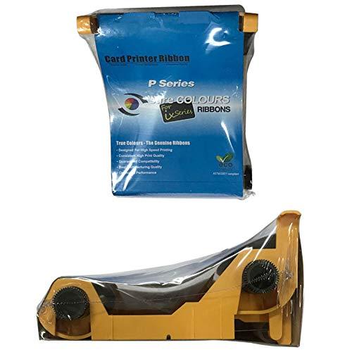 Miwaimao New Compatible 800015-940 Color Ribbon for Zebra P110i P120i Printer 200 Images Print