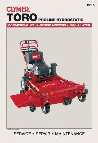 Toro Proline Hydrostatic: Commercial Walk-Behind Mowers, 1990 & Later (Lawn Mower)