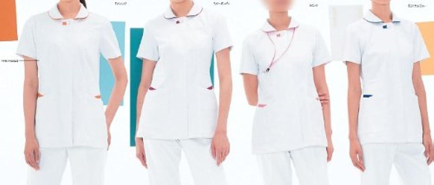 ほのか流体窓白衣 ナースウェア ナガイレーベン (ナウェイ) ほまれ Vitamin FT-4552 女子上衣 サイズ:S~EL