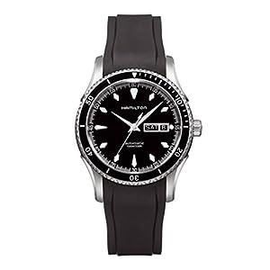 Hamilton Men's H37565331 Seaview Day Date Black Dial Watch