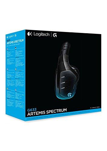 Logitech G633 Artemis Spectrum confezione