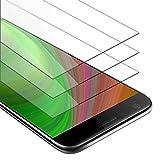 Cadorabo 3X Película Protectora para LG G5 en Transparencia ELEVADA - Paquete de 3 Vidrio Templado (Tempered) Cristal Antibalas Compatible 3D con Dureza 9H