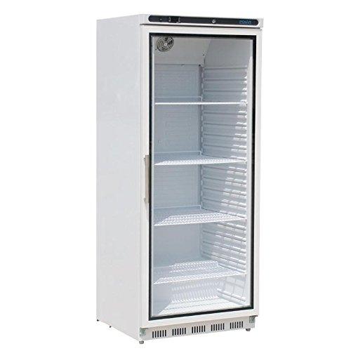Polar cd088Kühlschrank mit Glastüre, 600l