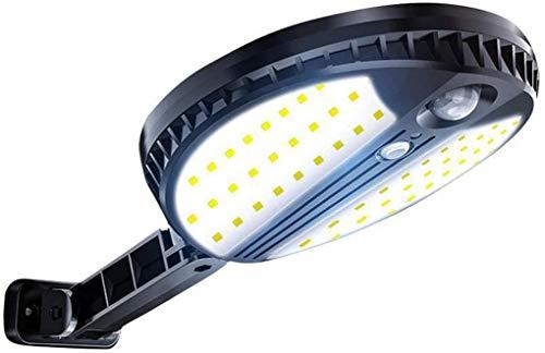 YUKM Solarlicht Outdoor Solar Motion Sensor Licht Outdoor IP65 wasserdichte Solarlicht Wireless 3 Mode Wandleuchte mit Bewegungssensor