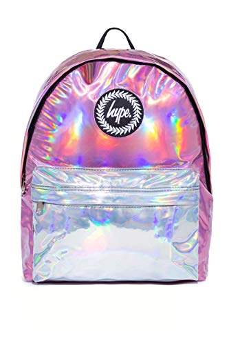 Hype Rucksack Pink Holographic Mix