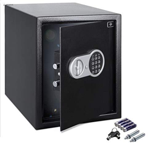 Deuba Safe Large Floor Wall Safes Digital 56L Home 40x40x35 Money Document Book Value Key Box