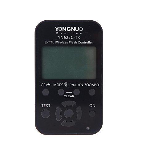 Yongnuo YN-622C-TX LCD Wireless e-TTL Controlador Inalámbrico de Flash para Canon Cameras Cámara
