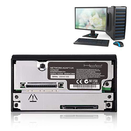 Mavis Laven SATA-Schnittstelle Netzwerkadapter, SATA-Festplattenanschluss Steckdose Festplattenadapter für Sony PS2 Playstation 2 Keine IDE