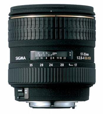 Sigma 17-35mm f/2.8-4 ex dg Objetivo para Nikon