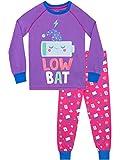 Harry Bear Pijamas para niñas Recargando Ajuste Ceñido Morado 9-10 Años
