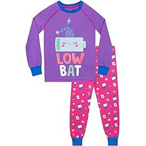 Harry Bear Pijamas para niñas Recargando Ajuste Ceñido