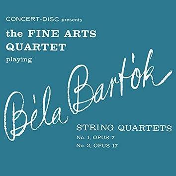 String Quartets No. 1 Opus 7, No. 2 Opus 17