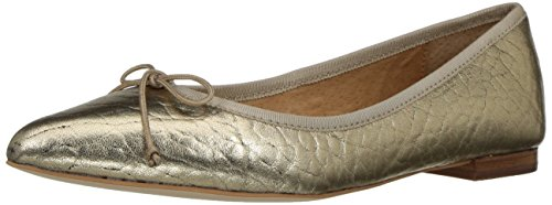Opportunity Shoes - Corso Como Damen Recital, Platinum Lamm Metallic, 35.5 EU