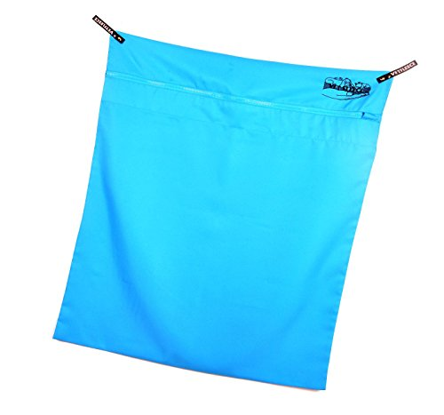 Pet Laundry Bag | Petwear Wash Bag | Vetfleece | Vetbed Washing Bag | Jumbo 90 cm x 73 cm | Dog Cat Hair Remover for Washing Machines | Dog Beds, Toys, Collars or Towels | Hanging Hooks, Locking Zip