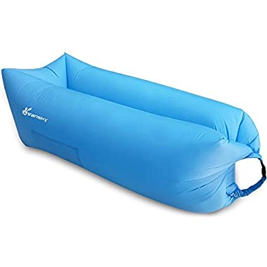 Outdoor Inflatable Lounger Chair & Inflatable Couch - Air Lounger Inflatable Chair & Air Sofa Bed for Adults & Kids - Best Inflatable Hammock Blow up Couch - Perfect Air Couch for Camping & Hiking