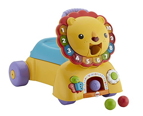 Fisher-Price DPL57 3-in-1 Sit, Stride and Ride Lion Set
