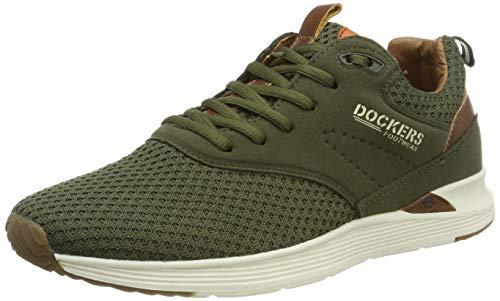Dockers by Gerli Herren 44BC001-782850 Sneaker, Beige (Khaki 850), 44 EU