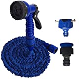 25FT/ 50FT/ 75ft/ 100FT Expanding Garden Water Hose Pipe with 7 Function Spray