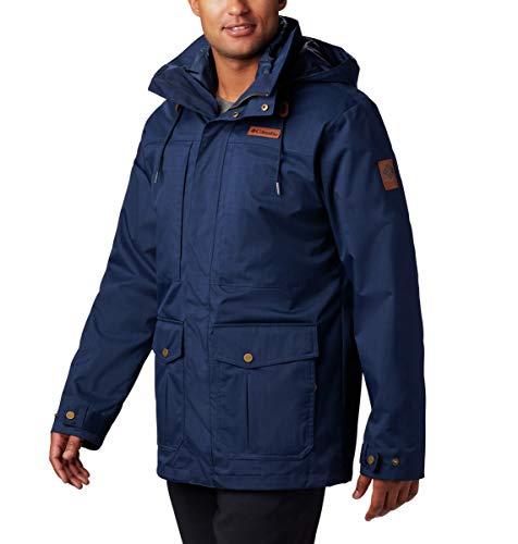 Columbia Men's Bugaboo II Fleece Interchange Jacket, Waterproof and Breathable, Large,BLACK - 10,Large