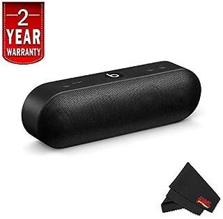 6Ave Beats Pill+ Portable Speaker + Fibercloth + Warranty (Black)