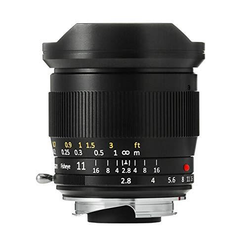 TTArtisans 11mm F2.8 Fisheye Full Fame Lens for Nikon Z Mount Mirrorless Camera Like Z50 Z6 Z7.