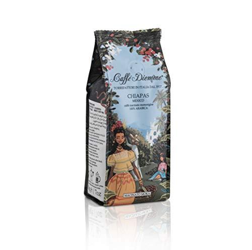 MEXICO CHIAPAS - Caffè Diemme linea viaggi - monorigine di caffè macinato per moka 100% arabica in confezione da 200gr