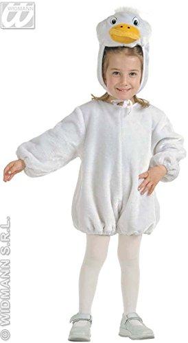 Kinder-Kostüm-Set Kleine Plüsch-Gans, Größe 110