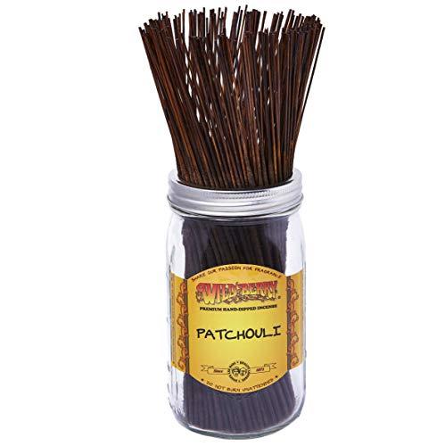 1 X Patchouli - 100 Wildberry Incense Sticks