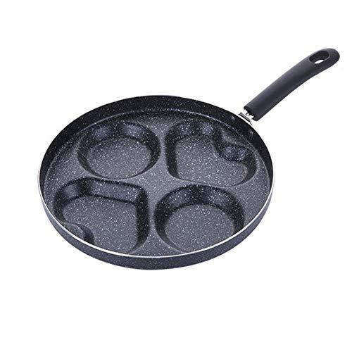 HAOXUAN Sartén para Panqueques, Sartén De Aluminio Antiadherente De 11 Pulgadas, Sartén para Panqueques De Carne, Adecuado para Estufa De Gas, Sartén para Panqueques De Cocina De Inducción,11 Inches