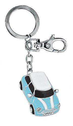 """Ten SCHLÃœSSELANHÃ""""NGER Auto hellblau cod.EL3071 cm 12x3,3x1,5h by Varotto & Co."""