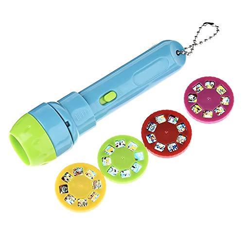 rongweiwang Historia de la Historieta niños proyector de la Linterna Niños clásico Cuento La Hora de Dormir niños Linterna proyector proyector de Toy Story