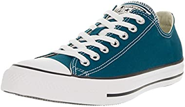 Converse Unisex Chuck Taylor All Star Ox Low Top Classic Blue Lagoon Sneaker