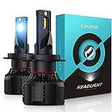KOYOSO H7 LED Lampadine per Auto 17000LM 110W 12V 6000K bianca, 2 pezzi
