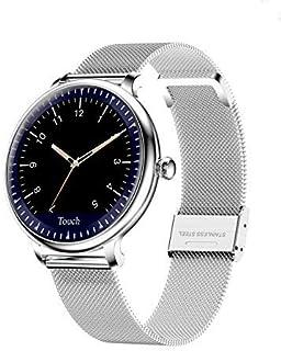 QLKJ Relojes Inteligentes Fashion para Mujer Impermeable Monitores de Actividad Fitness Tracker con Monitor de Sueño Pulsómetros Podómetro Compatible
