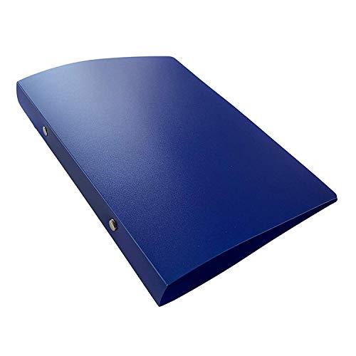 Janrax - Carpeta archivadora con anillas, color azul A5