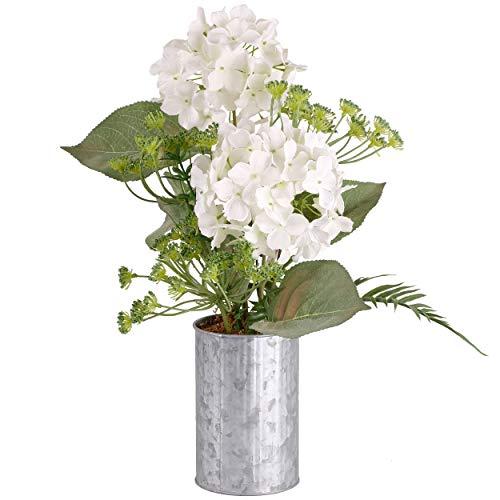 TERESA'S COLLECTIES Kunstbloemen in Hortensia Pot Bonsai 45 cm Home Decoraties Kunstplanten in Pot voor Tuin Bruiloft Verjaardagsfeestje