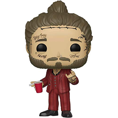 Funko Pop Rocks : Post Malone 3.75inch Vinyl Gift for Music Fans SuperCollection