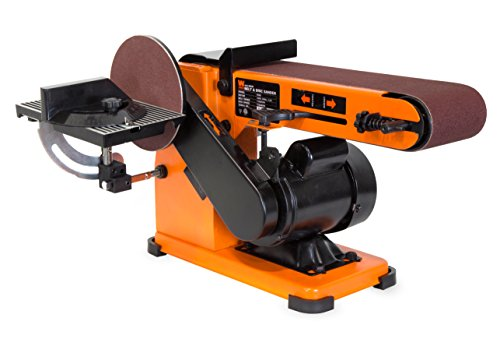 "WEN 6500T 4 x 36"" Belt & 6"" Disc Sander with Steel Base"