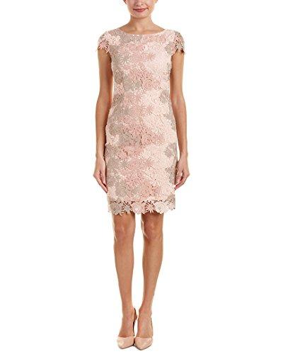 Tahari ASL Women's Lauren Dress, Pink (Petal/Blush/Stone), 12 (Size:8)
