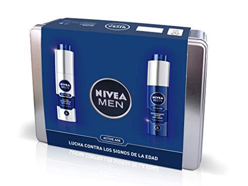Nivea Men Pack Active Age, Caja de Regalo, Fluido Hidratante