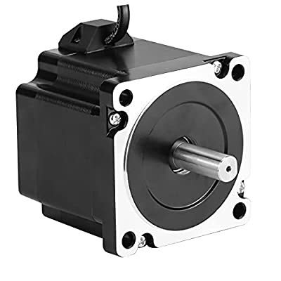 RTELLIGENT Nema 34 Stepper Motor 2.8A 3.5N.M 2 phase 86X86X65mm Step by Step for Automation/Laser/CNC Machine
