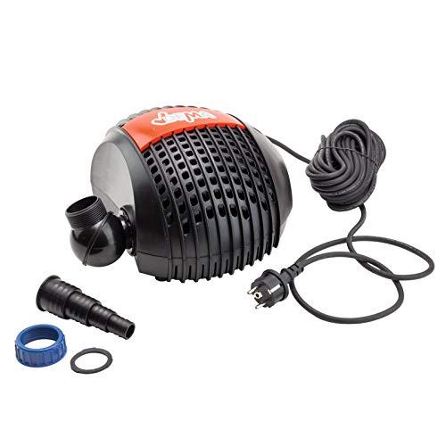 Energiespar Teichfilterpumpe Teichpumpe Gartenpumpe Filterpumpe Pumpe 4600 l/h