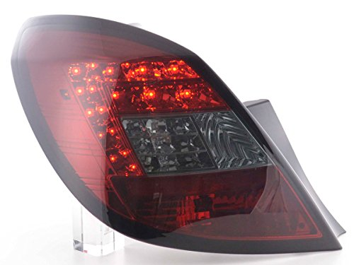 FK Automotive FKRLXLOP12019 LED Feux arrière, Noir