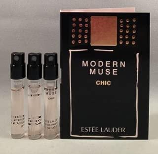 3 Estee Lauder Modern Muse Chic EDP Spray Sample Travel Vial .05 Oz/1.5 Ml Each