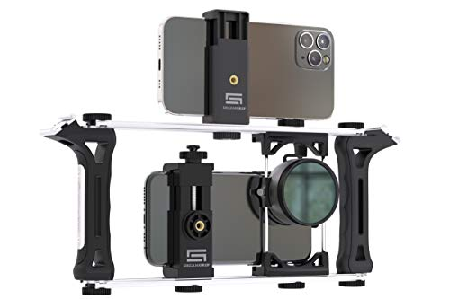 DREAMGRIP Evolution 2020 PRO-Sistema modular de plataforma universal transformable para cualquier teléfono inteligente,cámaras de acción y DSLR, kit de video renovado,Youtubers,periodistas o cineastas