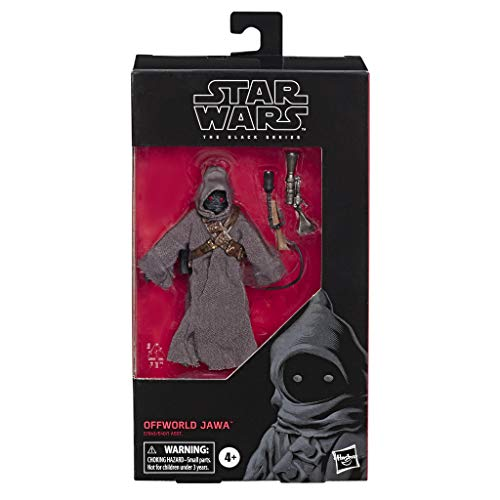 Star Wars - Figura de The Mandalorian 15 cm Jawa de Black Series (E7943EL2)