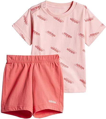 adidas Favorites Set Jr Chándal, Unisex bebé, Rosa (Glory Pink/Glory Pink), 2-3Y