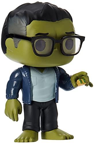 Funko- Pop Marvel: Endgame-Hulk w/Taco Avengers Collectible Toy, Multicolor, Standard (45139)